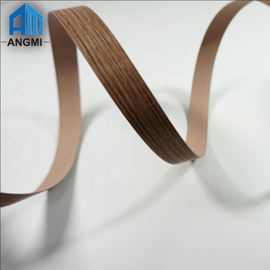 Decorative Wood Color Plastic High Glossy Edge Banding Tape