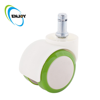 White color caster for baby bed small casters bay sheet casters baby Bed Cradles