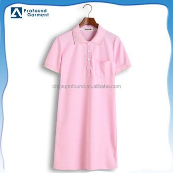 High Quality Fashion Long Pattern Plus Size Women Polo Dress Buy