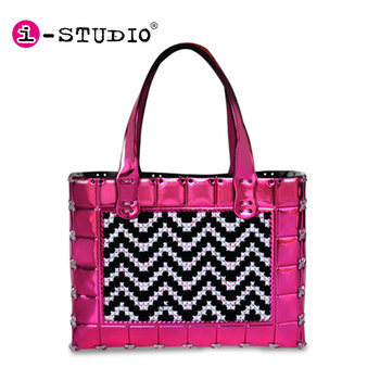 2016 hot sell fashion DIY cross stitch handbag for kids
