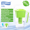 Alkaline water pitcher with filter purifier