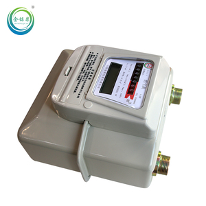 digital diaphragm gas meter g1.6 gas meter g4 with safety device