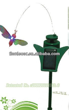 Solar led lighting flutterby insects(FD53113-M2L)