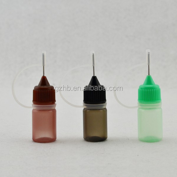3ml PE plastic bottles needle tip dropper bottles squeeze bottle for honey