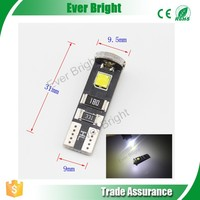 Good Quality White T10 W5W Led 5050 3SMD CAN bus No Error W5w Canbus Led Light as Turn Signal light Side Marker lights Bulb