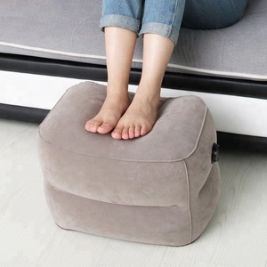 inflatable leg rest travel pillow inflatable foot rest pillow inflatable head pillow