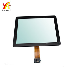 Factory price 15 inch all in one touch screen pc with capacitive screen touch kit