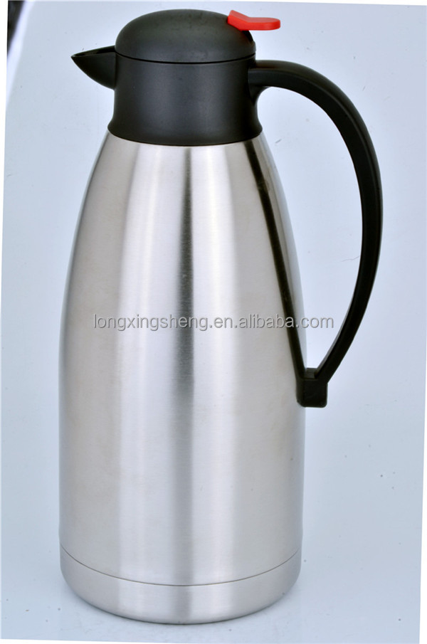 Stainless Steel Thermos Hot Water Flask Coffee Pot 1 5l