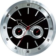 Customize Logo Metal Wall Clocks For Promotional