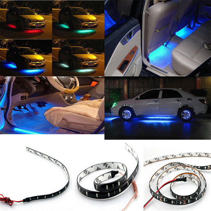 30CM Interior Led car sticker