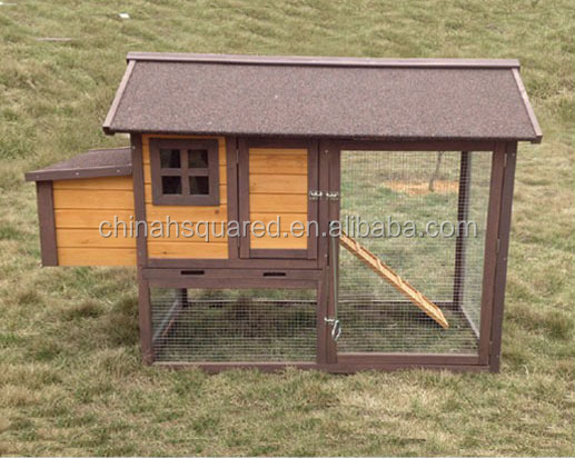 Manufacture export farm used wooden chicken coops with nesting box with run cage excellent quality