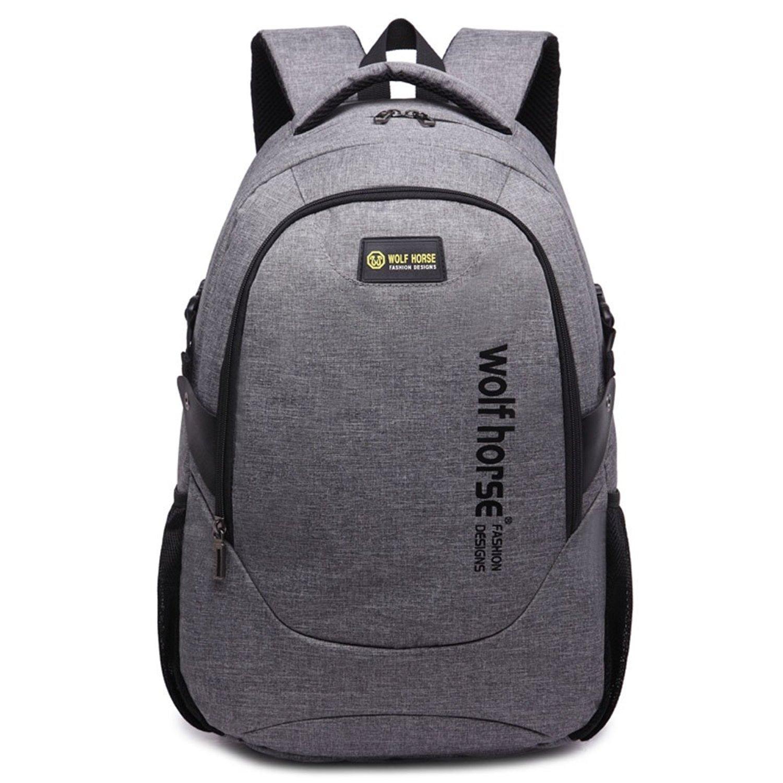 d337ca4964b Buy Lipoke Cool Mens Backpacks for Teen Boys Laptop School Book Bags ...
