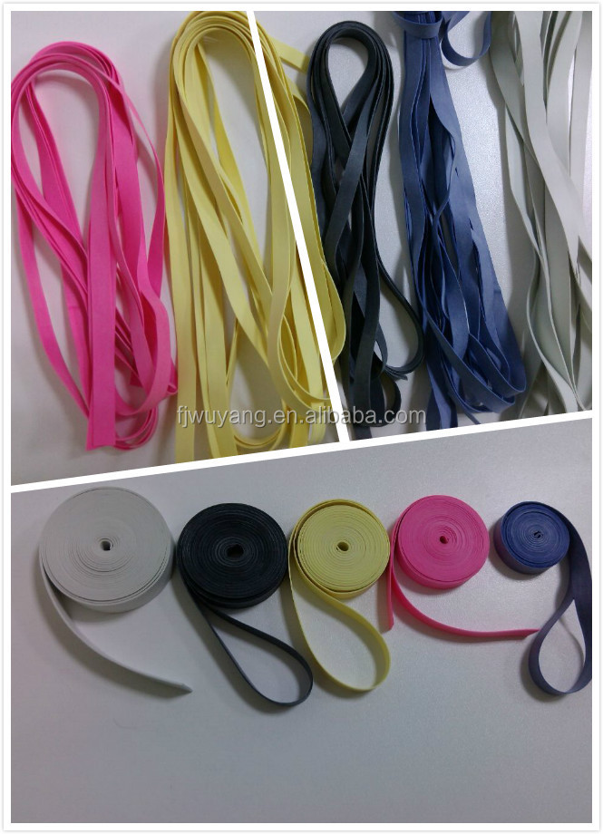 High Quality Latex Rubber Elastic For Swimwear,Latex Rubber Thread ...