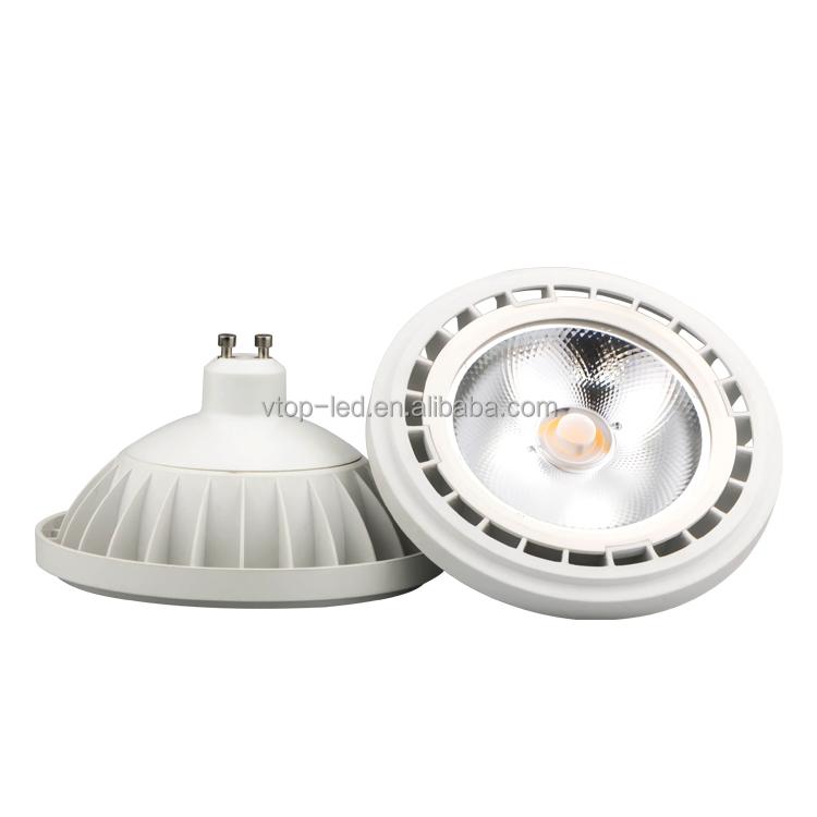 Ar111 Cob 15w Gu10 Led Light Thermal Plastic/aluminium Ac220-240v ...