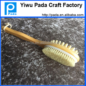 body brush for dry skin brushing
