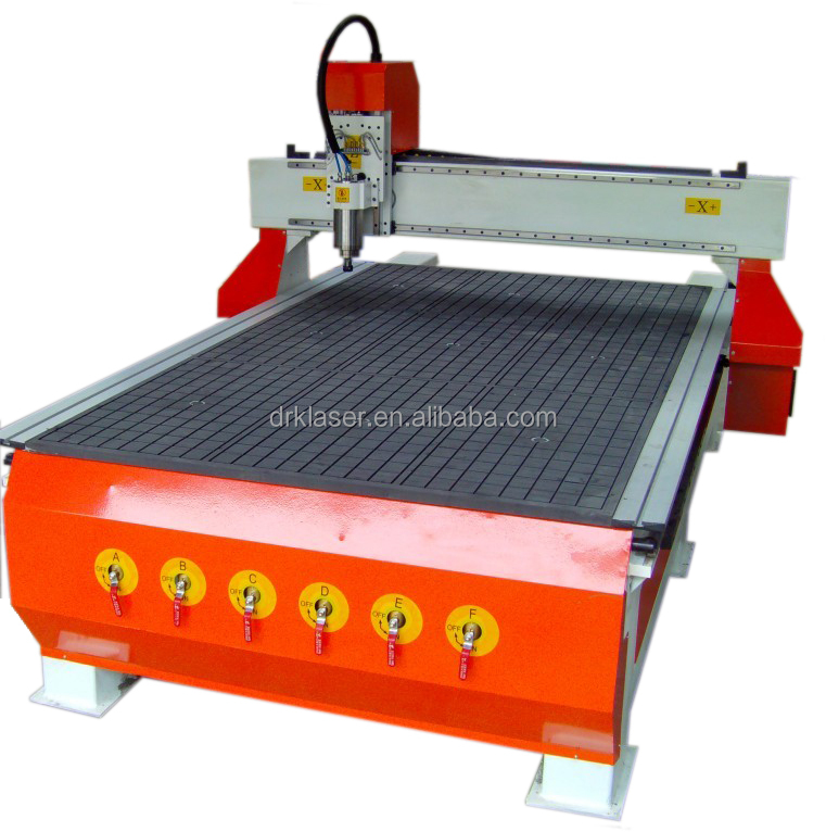 High speed cnc wood carving router machine 1325 with 3d laser scanner