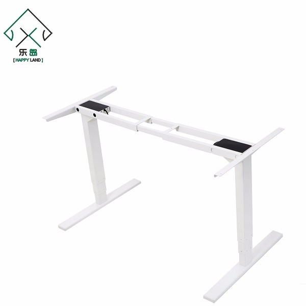 Certified steel furniture white color computer desk with wheels