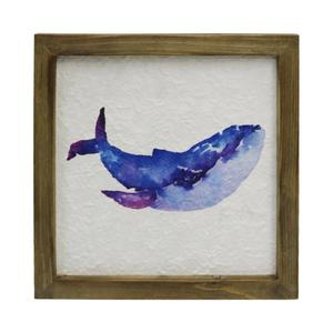 Wholesale ocean sea wooden mdf paper print home goods decor wall frame art plaque