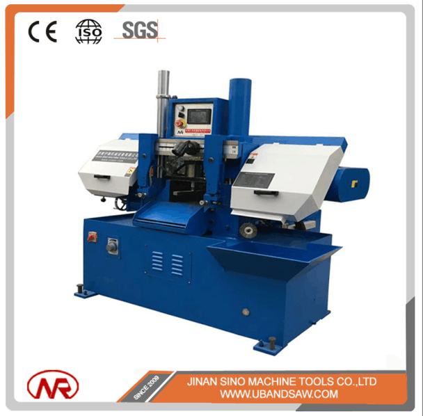 2017 new factory price best sell 260mm capacity fully automatic horizontal metal cutting band saw