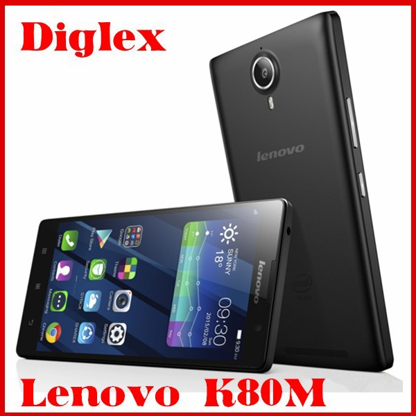 Original Lenovo K80M Android 5.0 Mobile Phone 5.5 Inch Quad Core Intel Z3560 2G RAM 32GB ROM Dual Sim Cell Phone