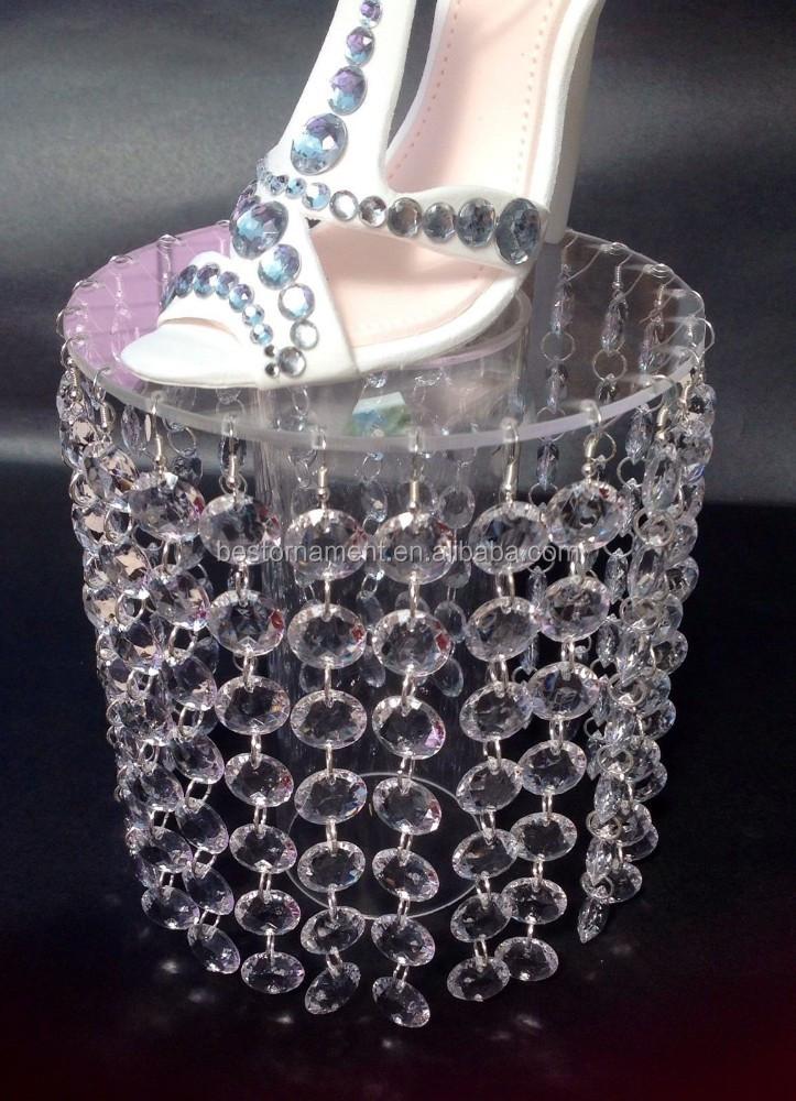 Elegant Crystal Chandelier Wedding Cake Stand - Buy Crystal Cake ...
