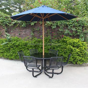 2 7m Umbrella Outdoor Sun Garden Parasol Umbrella Parts Outdoor
