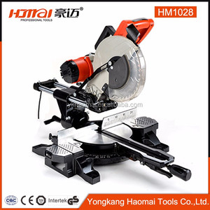 modern-styled mini sliding miter electric saw