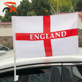 nx flags Good quality 100% polyester england car flag wholesale