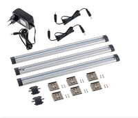 Warm White Dimmable LED Under Cabinet Lighting 4 Panel Standard Kit