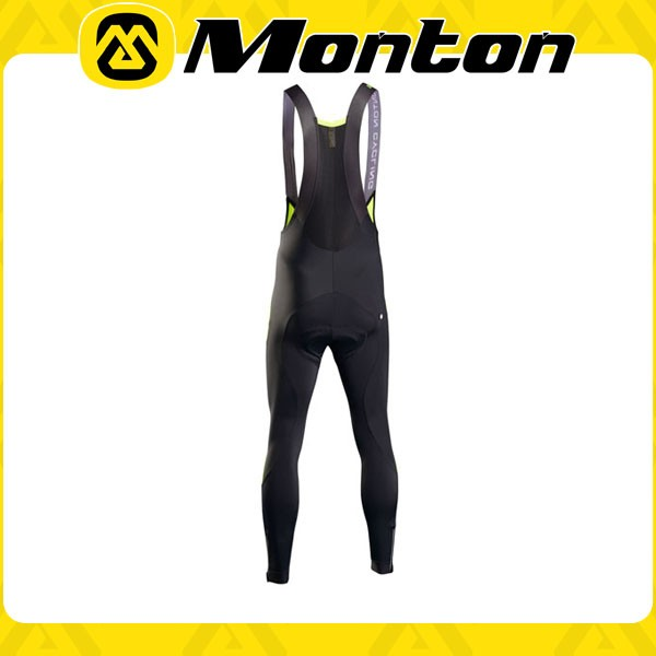 Long bib cycling pants of mens MONTON 2015 tight bicycle apparel