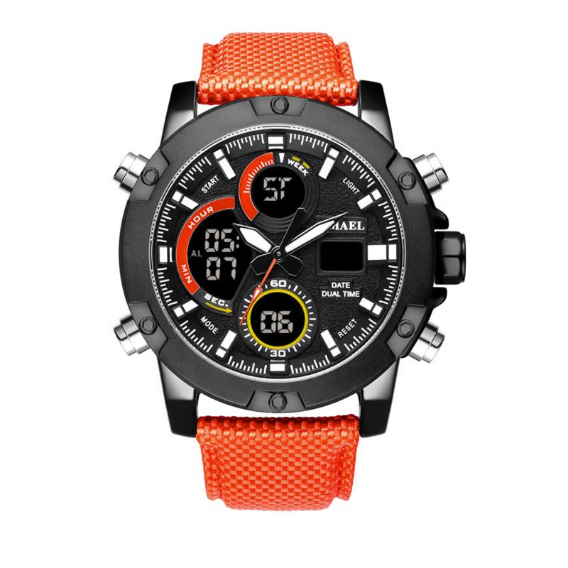 In Stil; 2018 Luxus Männer Analog Digital Military Armee Sport Led Wasserdichte Armbanduhr Montre Reloj Relogio Uhr Elektronische Uhr Modischer