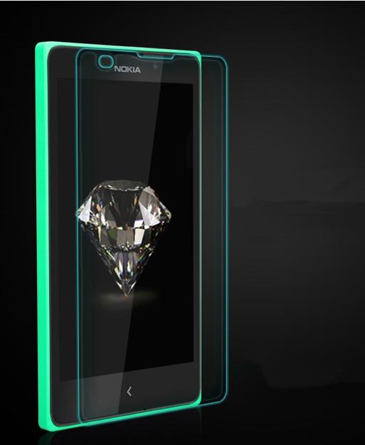 Tel fono de vidrio templado de la pel cula protector de for Cristal templado a medida