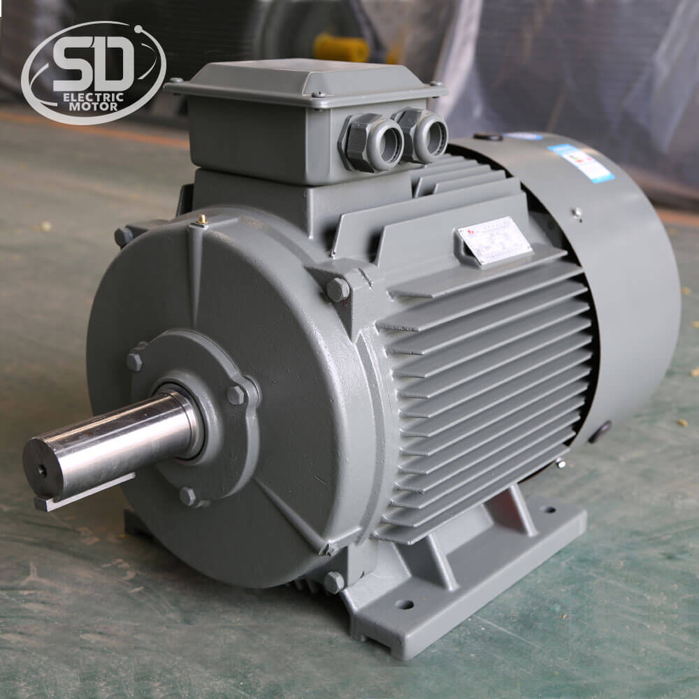 IE2 225M 6 pole 1000RPM 30KW electric <strong>ac</strong> 40HP 110v three phase induction motor