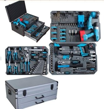 Professional-line 206pcs Swiss Kraft Tools Set With Trolley (hand ...