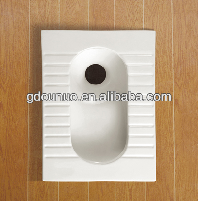 Ceramic squatting pan wc toilet 7559