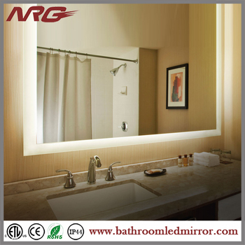 Modern Bath Mirror With Led/t5/t5 Light Makeup Mirror - Buy Mirror ...