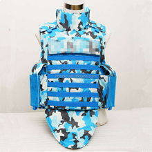 Full body armor groin protection bulletproof vest