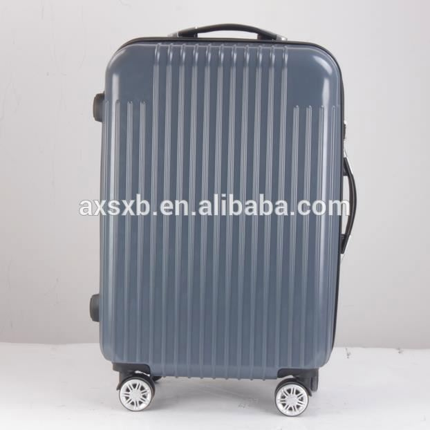 New arrival waterproof abs pc carry-on travel luggage trolley