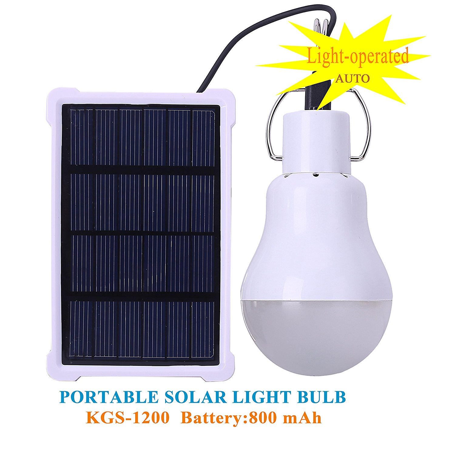 Bol Solar Lamp Portable Led Light Bulb Panel Ed Rechargeable Lights