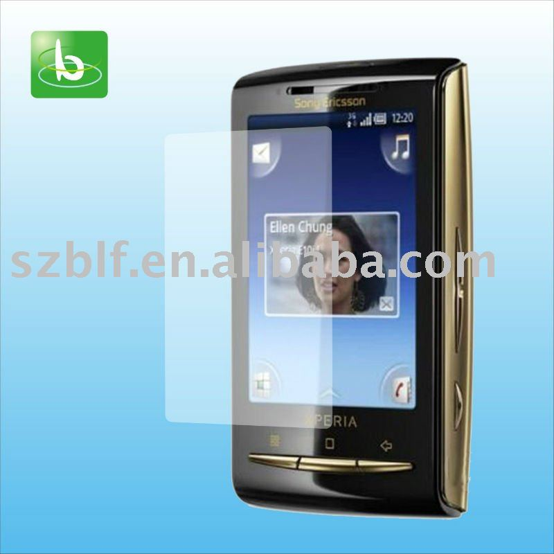 Hot sales phone screen protector for Sony Ericsson X10mini+ screen guard
