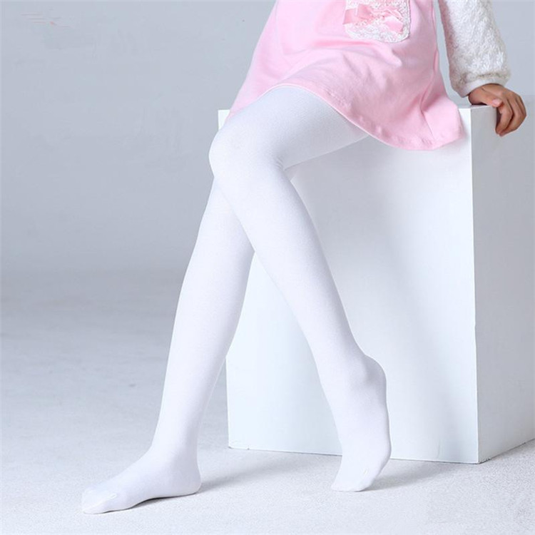 0584d9207 BT00006 Factory Wholesale Full Footed Children Dance Tights Tan Ballet  Tights