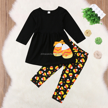 Toddler Kids Baby Girls Clothes Set Flower Top Dress Pants Leggings Outfits Set Princess Clothes UK