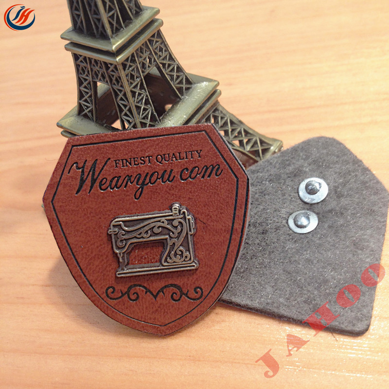 China Factory Direct Custom Leather Garment Tags