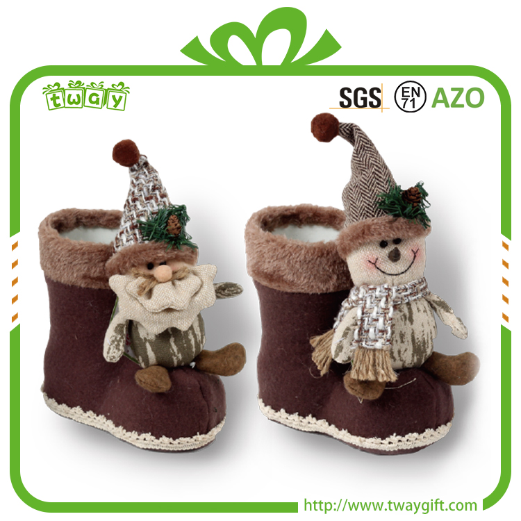 Hot selling kids boots love gift candy christmas fashion boot for chridren gift