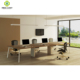 6 seaters open modern office workstations modular
