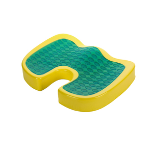 Cool Bus Drivers Office Chair Coccyx Orthopedic Gel Seat Cushion Silicone Memory Foam Cooling Car Seat Cushion