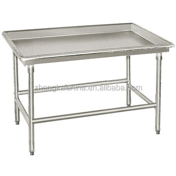 X Commercial Kitchen Stainless Steel Sorting Work Table - Stainless steel work table 30 x 48