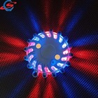 Rechargeable Battery Power Blue Color Signal Safety Mega Led Road Flare