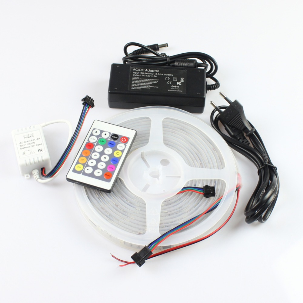 Cheap Led Controller Ic Find Deals On Line At The Strips In My Device Use Ws2801 Uses A Get Quotations Miyole Pixel Strip Addressable Neon Tape 36led M 12ic Ip67