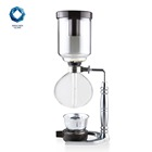 China supplier unique large portable balancing syphon coffee maker